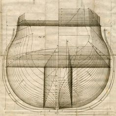 sailing ships construction drawings - Google Search