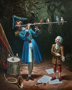 Michael Cheval is the world's leading contemporary artist, specializing in Absurdist paintings, drawings and portraits. Description from pinterest.com. I searched for this on bing.com/images