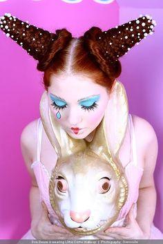 Alice in wonderland~Queen of Hearts makeup