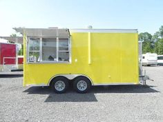 16 x 8 Food Concession Trailer: 6/9/2016 California - I'm selling this 2010 food…