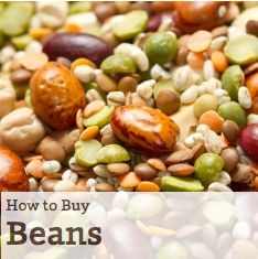 Are dried beans truly better than canned? Why beans appear in heart healthy Mediterranean diets. Discover more healthy food shopping tips for beans!