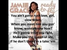 jamie grace just a friend - YouTube