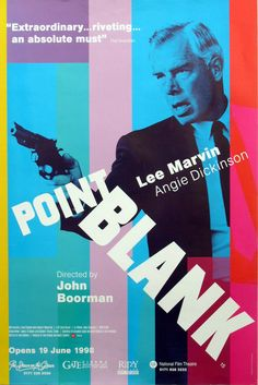 there are actors, and then there's Lee Marvin. this movie is super cool.