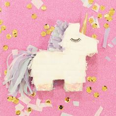 A unicorn pinata for random celebrations of life and candy. | 25 Products For Anyone Who's The Life Of The Party