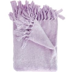 Liz Throw Color: Lilac ($60) ❤ liked on Polyvore featuring home, bed & bath, bedding, blankets, accessories, water resistant blanket, lilac throw blanket, lavender blanket, lavender throw blanket and lightweight throws