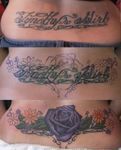 purple rose cover up tattoos egodesigns