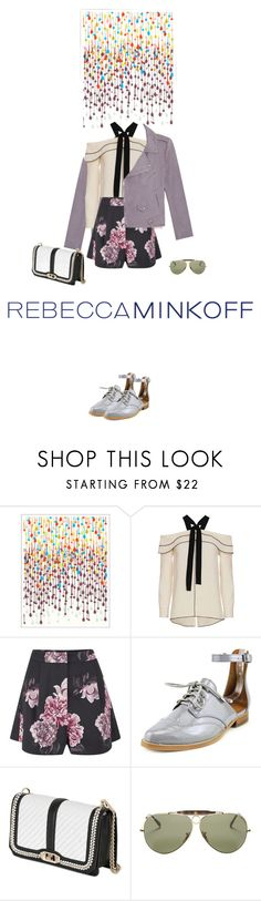 """Rmspring"" by fanfan-zheng ❤ liked on Polyvore featuring Khristian Howell, Rebecca Minkoff, Proenza Schouler, Cameo, Ray-Ban, women's clothing, women, female, woman and misses"