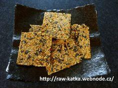 Vitariánské krekry aneb Neptunův chléb podle Raw Katky (raw food) :: Syrová strava