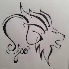 Image result for tattoo design for leo zodiac sign