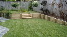 wooden retaining walls - Google Search