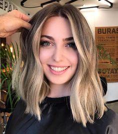 24 Hottest Dark Auburn Hair Color Ideas of 2019 - Style My Hairs Dark Auburn Hair, Brown Blonde Hair, Blonde Ombre Short Hair, Hair Color Balayage, Ombre Hair, Babylights Blonde, Balayage Lob, Blonde Beach, Medium Hair Styles