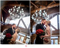 Mariage d'hiver / Winter Wedding – Grand Lodge Mont-Tremblant – Molly and Jeff