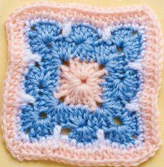 Ornate centre granny square... Free pattern!