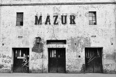 The old Mazur cinema in Pabianice Poland.