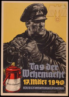 """German  WW2""""Day of the Wehrmacht""""  Navy"""