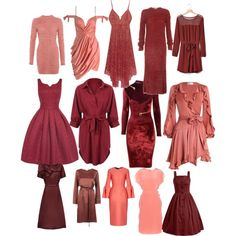 Soft Autumn Reds and Coral by carlie-ann on Polyvore featuring Zimmermann, WithChic, Agent Provocateur, TIBI, For Love & Lemons, Gap, Dorothee Schumacher, Raoul, Roksanda and Stine Goya
