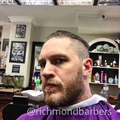 "@richmondbarbers ""Selfie time"" >> More photos Most Beautiful Man, Beautiful Smile, Gorgeous Men, Beautiful People, Tom Hardy, Mad Max Fury Road, Beard Lover, Selfie Time, Peaky Blinders"