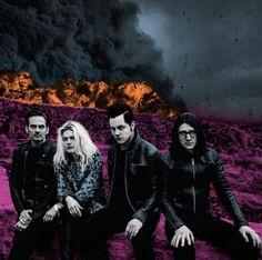 """El grupo liderado por Jack White y Alison Mosshart, The Dead Weather, compartió el video para """"I Feel Love""""."""