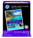 HP Color Inkjet Paper, 97 Brightness, 8.5 x 11 Inches, 500 Sheets (20200-0) - http://www.careerworkshopclub.com/hp-color-inkjet-paper-97-brightness-8-5-x-11-inches-500-sheets-20200-0/