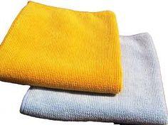 Поддържайте вашите микрофибърни кърпи за почистване