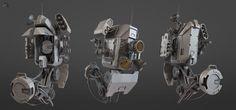 Demolition Droid by vitrux