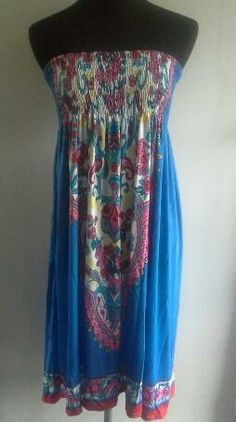 Clotheswap - New elasticated dress Real Women, Tie Dye Skirt, Size 14, Curves, Skirts, Clothes, Tops, Dresses, Fashion