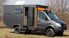 Bocklet Dakar 650: Aus einem Sprinter macht die Firma aus Koblenz ein für die Fernreise taugliches Wohnmobil mit Allradantrieb und jeder Menge Luxus an Bord.