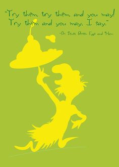 I Do Not Like Green Eggs and Ham by Amy Roe on Etsy