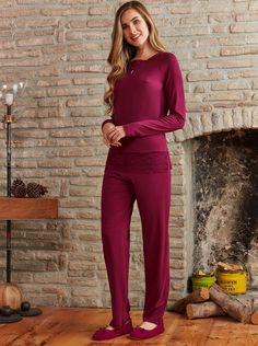 Pierre Cardin PC7262 Büyük Beden Pijama Takım #markhacom #newseason #fashion #kadın #moda #yenisezon #stil #pijama #pijamatakımı #sonbahar #pierrecardin #kış