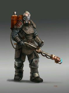 Guy with modern torch by Diamondaectann Post Apocalypse, Apocalypse World, Character Concept, Character Art, Apocalypse Character, Cthulhu, Post Apocalyptic Art, Fallout Art, Arte Robot