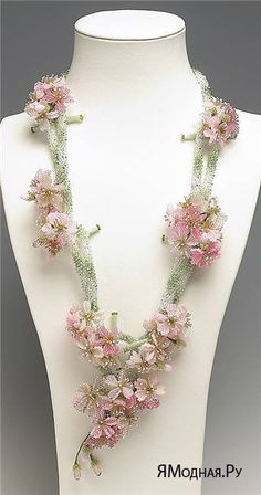 Jewelry Design - Double-Strand Necklace with Seed Beads and Swarovski Crystal Components - Fire Mountain Gems and Beads Seed Bead Jewelry, Bead Jewellery, Seed Beads, Beaded Jewelry, Jewelry Art, Beaded Necklaces, Perler Beads, Art Perle, Motifs Perler