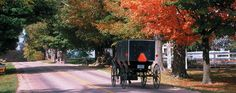 """Heritage Trail, Northern Indiana, voted the top USA Today Reader's Choice considered one of """"America's Most Scenic Drives."""""""