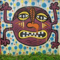 Street art au bord de l'Orge à Savigny-sur-Orge - Personnage en couleur 20161114079