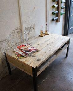 live edge walnut coffee table with steel base - live edge wood