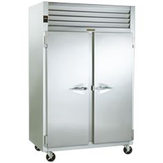 Industrial Refrigerators - Industrial Freezers   Traulsen  From our value-focused G-Series to our R & A Series, the premier refrigeration line in the industry, Traulsen has a refrigerator, freezer, dual-temp and hot-food holding cabinet to fit the demands and budget of any kitchen. We also offer the industry's widest variety: one-, two- and three-section reach-ins, roll-ins and roll-thru refrigerators and freezers, every one of which is designed to last a long, long time.