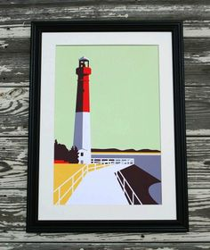 Barnegat Lighthouse No. 1 by The Municipal Prints Company