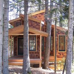 Tiny House in the Trees: 350 Sq. Ft. of Bliss | Tiny House Pins