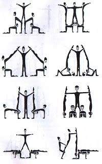 Have students form the letters with their bodies to