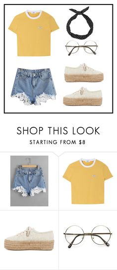 """""""summer"""" by lauras38 on Polyvore featuring Superga and Boohoo"""