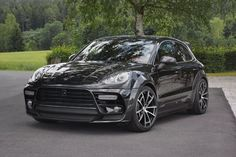 Mansory Porsche Macan Turbo Black If you're in. - Mansory Porsche Macan Turbo BlackIf you're in need of a luxury tuning company for your luxury/premium automobile, odds are you're not going to do much better than Mansory. Porsche Macan Turbo, Porsche 918, Porsche Cars, Ferdinand Porsche, Cheap Porsche, Audi R8 Convertible, 2015 Porsche Cayman, 4x4, Black Porsche