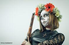 Dià de los muertos - Sugar Skull Studio Portraits, Photography, Art, Day Of The Dead, Death, Art Background, Photograph, Professional Headshots, Fotografie
