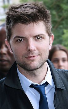 What does Adam Scott (Ben Wyatt on NBC's Parks and Rec) put in his hair? No, seriously, can somebody ask him?