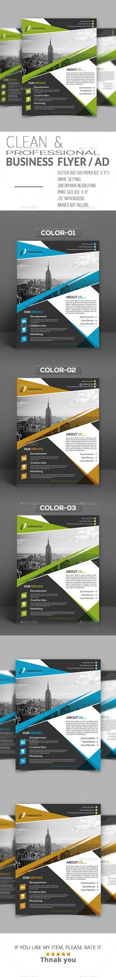 Business Flyer / Ad - Corporate Flyers