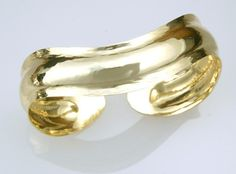 Currents Bracelet: Yellow Gold – Harvest Gold Gallery