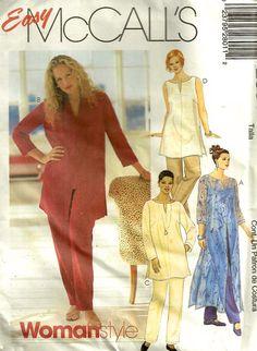 Plus Size TUNIC & CAFTAN Sewing Pattern
