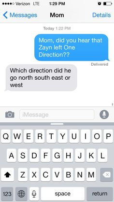 Mom: | Parents React To Zayn Leaving One Direction>>>my mom was trying so hard to be supportive when i told her
