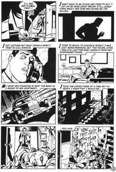 Batman Black and White-Bruce Timm.