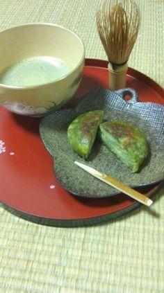 抹茶団子〜フライドポテト風味 Matcha dumpling-fried potato