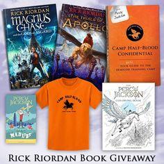 Rick Riordan YA Books Giveaway. http://www.megancrewe.com/blog/?ks_giveaway=rick-riordan-ya-books-giveaway&lucky=84111