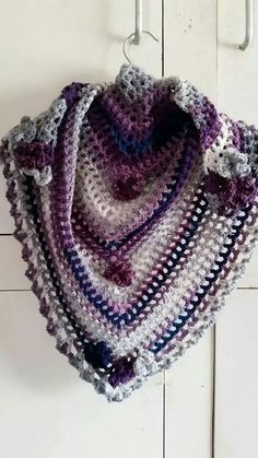 Road trip scarf pattern